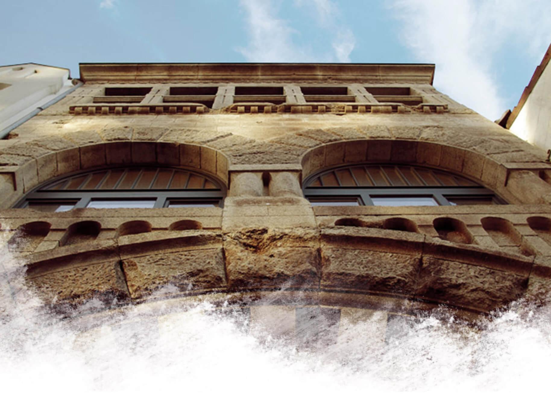 Außenansicht - Bürogebäude