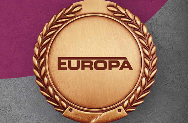 EUROPA erobert das Treppchen