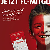 1. FC Köln Mitgliederkampagne